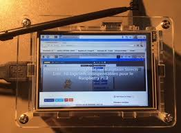 installer post it sur bureau test lcd 3 5 hdmi touch screen via gpio with acrylic for