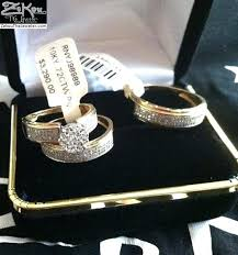 wedding ring trio sets wedding rings trio wedding ring sets yellow gold