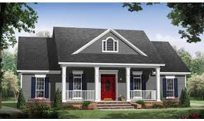17 beautiful country home plans with front porch house plans 46114