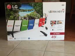 amazon black friday lg led tv lg uf7600 4k tv review 43uf7600 49uf7600 55uf7600