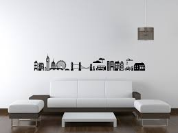 Home Decor London by Wall Decoration London Skyline Wall Sticker Lovely Home