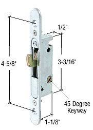 Locks Sliding Patio Doors Crl Mortise Lock For Sliding Glass Patio Doors Round End Face