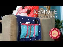 Armchair Remote Holder Buat Sendiri Diy Tutorial Remote Organizer Youtube