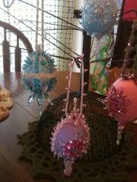 glitter easter egg ornaments jewelled egg made from a foam egg sequins glitter sequin