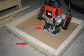 diy router table top homemade route table the diy geek