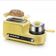 Bacon In Toaster Multifunctional Breakfast Machine Toaster Bread Baking Machine Egg