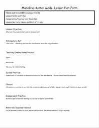 lesson plan template one week page glance of types templates siop