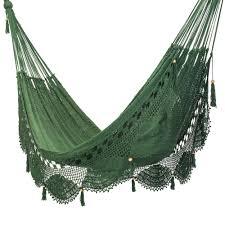 Mayan Hammock Bed Deluxe Mayan Crochet Hammock Forest
