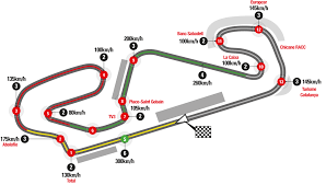 Circuit Of The Americas Track Map by Marquez And Pedrosa Looking Forward To The Gp Of Catalunya Motogp