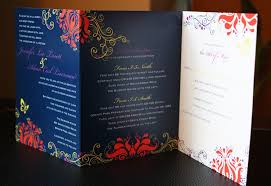 tri fold wedding invitations tri fold wedding invitations wedding corners