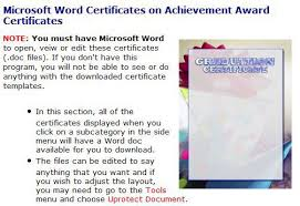 microsoft word templates for use