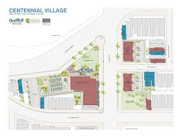 centennial village development starts construction community