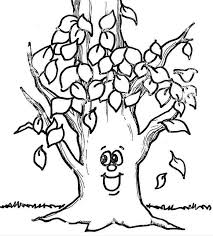 Fall Coloring Pages 3 Funnycrafts Fall Coloring Page