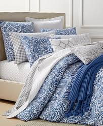 Duvet Club Charter Club Damask Designs Paisley Denim Duvet Sets Only At