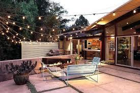 solar deck string lights light modern solar landscape lighting backyard patio string lights