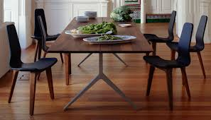 de la espada dining table de la espada overton table 10 12 seater walnut solid brass heal s