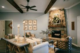 fixer upper joanna gaines living rooms and warm colors