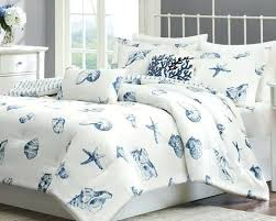 Single Duvet Cover Sets Nautical Themed Duvet Covers Seaside Blue Comforter Set Nautical