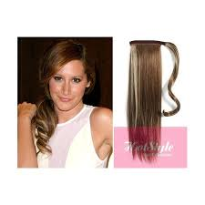 human hair clip in extensions clip in human hair ponytail wrap hair extension 20