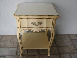 Dixie Bedroom Furniture Vintage French Provincial Desk By Dixie Furniture American Made