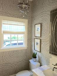Wallpapers For Bathrooms Chic Wall Paper For Bathrooms Feather Bloom Wallpaper For Small