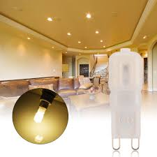 10x g9 5w led dimmable capsule bulb replace halogen light bulb