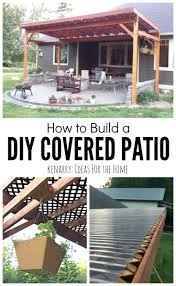 easy to build house plans patio ideas inexpensive patio cover kits image of easy patio