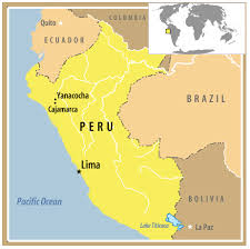 peru on map frontline peru the curse of inca gold map pbs