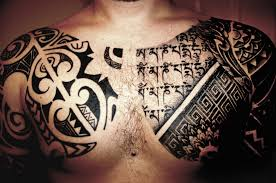 photo and tattoos chest design idea for and