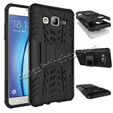 Samsung Galaxy Rugged Rugged Dual Layers Shockproof Hybrid Stand Armor Case For Samsung