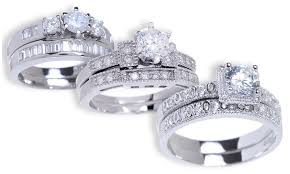 groupon wedding rings engagement and wedding ring set groupon goods