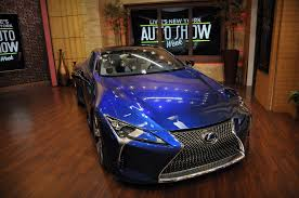 lexus usa executives green cars on live with kelly and michael autoshow week blog