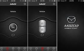 smart start app for android mazda introduces mobile app with remote vehicle features news