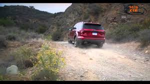 Ford Explorer Colors - 2016 ford explorer base review red color youtube