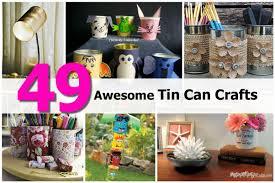 tin can decorations my tin can craft organizer with tin can
