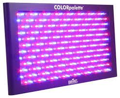 amazon com chauvet dj colorpalette led panel dmx stage wash light