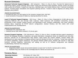 it system support sample resume easy write tech support resume