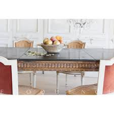 french country style vintage extendable dining table 1940 kathy