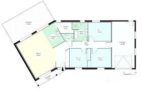 plan maison 7 chambres plan maison sans couloir plan plain pied 7 plan maison 3 chambres