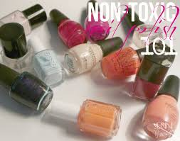 non toxic nail polish 101