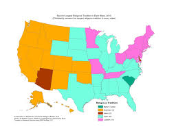North East Usa Map by These Maps Show The Most Common Religions Christian And Non