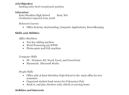 resume exles for students with no work experience resume templates no work experience high student unique