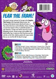 courage the cowardly dog amazon com cartoon network hall of fame courage the cowardly dog