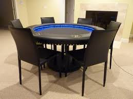 round poker table with dining top attractive modern poker table dining top dimensions images home