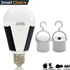 How To Charge Solar Lights - amazon com flyhoom portable 7w 420lm led solar light bulb
