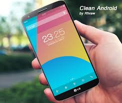 clean android phone get this look clean android concept
