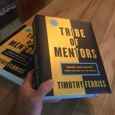 tribe of mentors u2014 sample chapter and a taste of things to come