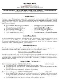 Environmental Engineer Resume Sample by Download 10 Samples Of Professional Resume Formats Esc