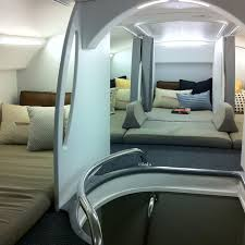 Resting Space The Best Seats On A Boeing 777 Try The Upstairs Bunk Beds