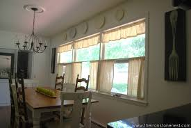 dining room cafe curtains dining room decor ideas and showcase